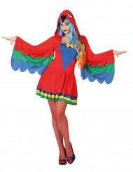 Papegaaien kostuum voor vrouwen