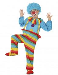 Regenboog clownspak voor jongens