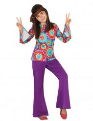 Flower Power kostuum voor meisjes