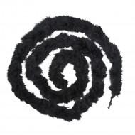 Zwarte pluche slinger