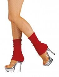 Rode been warmers voor vrouwen