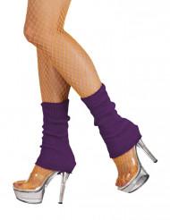 Paarse been warmers voor vrouwen