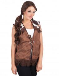 Wilde Westen jasje voor vrouwen
