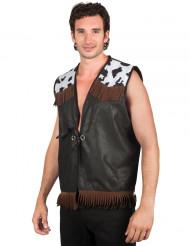 Western cowboy vest voor mannen