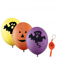 Set 4 gigantische ballonnen Halloween