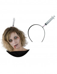 Spuit op haarband voor Halloween