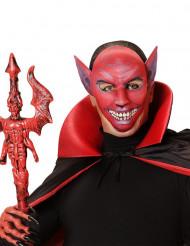 Rood duivel masker voor volwassenen Halloween