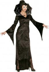 Spinnen gravin Halloween kostuum voor vrouwen