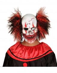 Bebloede clown masker voor volwassenen Halloween
