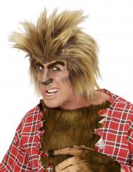 Weerwolf pruik voor volwassenen Halloween
