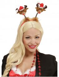 Kerst haarband klein rendier