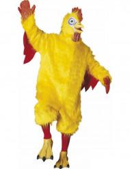 Mascotte kip kostuum voor volwassenen