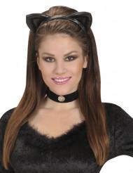 Hoofband met katten oren