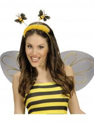 Bijen haarband met nep bond voor volwassenen