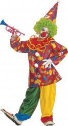 Clown narrenkostuum voor kinderen