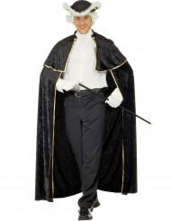 Venetiaanse charmeur cape met jabot voor volwassenen