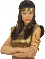 Egyptische slangen armband voor vrouwen