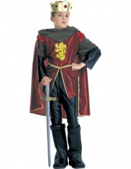 Middeleeuwse leeuwen koning outfit voor jongens