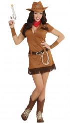 Cowgirl western kostuum voor vrouwen