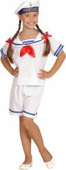 Retro matrozen kostuum voor meisjes