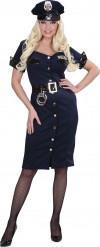 Politie agente kostuum voor dames