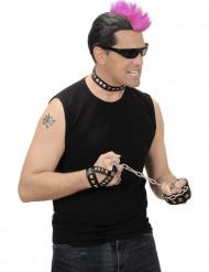 Set Rock sieraden voor volwassenen