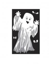 Spook of skelet raamversiering Halloween