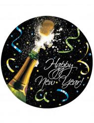 Set Happy New Year borden Champagne