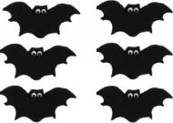 Set suikerversieringen vleermuizen Halloween