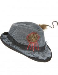 Borsalino hoed met rat Halloween