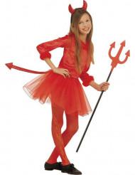 Rode duivelin kostuum voor meisjes Halloween