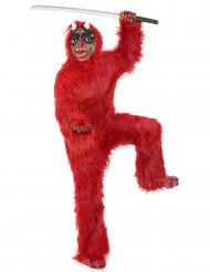 Luxe rode duivel kostuum voor volwassenen Halloween