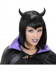 Zwarte hoorntjes voor volwassenen Halloween