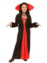 Gravin kostuum met grote kraag voor meisjes