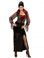 Kanten vampierskostuum voor vrouwen