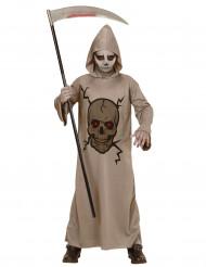 Skelet reaper kostuum voor kinderen