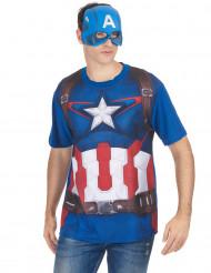 T-shirt en masker van Captain America™ Movie 2