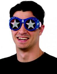 Captain America™ bril voor volwassenen