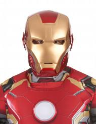 Tweedelig Iron Man 2™ film masker voor volwassenen
