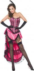 Retro cabaretdanseres outfit voor vrouwen