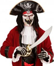 Masker piraten kapitein voor volwassenen