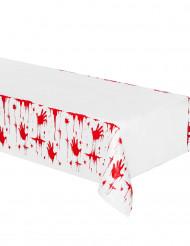 Bloederige handen tafelkleed