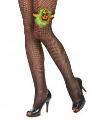 Pompoen kousenband voor dames Halloween