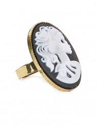 Gothic Halloween ring voor dames