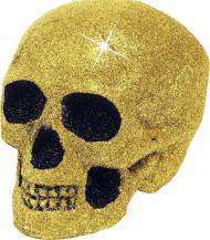 Goudkleurig doodskop versiering