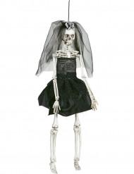 Bruid skeletten versiering Halloween