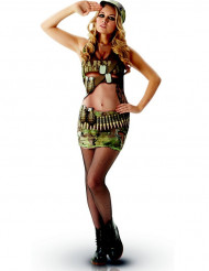 Sexy leger outfit met opdruk voor vrouwen