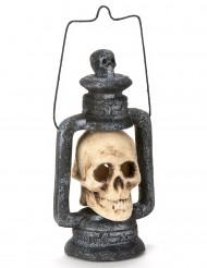 Lichtgevende doodskop lantaarn Halloween