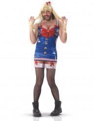 Humoristisch matrozen outfit voor heren