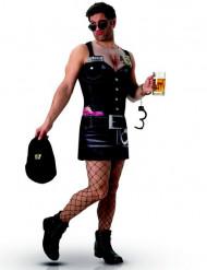Sexy humoristhisch politie kostuum voor mannen